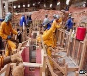 Stadium construction underway