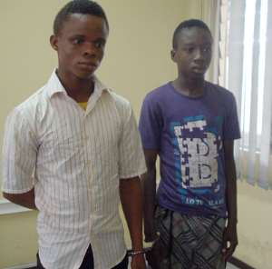 2 Nigerians Grabbed For Kidnapping