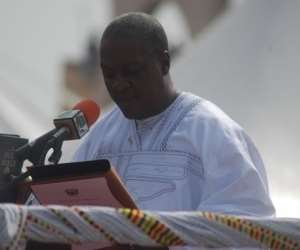 So who reported Ex-President Mahama to the Office of the Special Prosecutor?