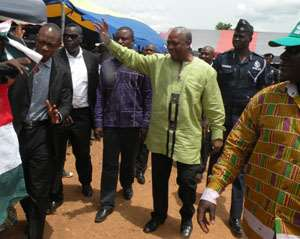Open Letter To Former President Mahama: Your Security Capo Was Right