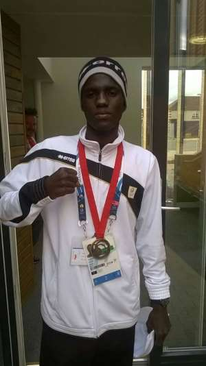 Abdul Omar cries for his money two years after winning Commonwealth bronze for Ghana