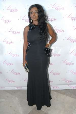 Yvonne Okoro Wows At Adams Apples Final Premiere
