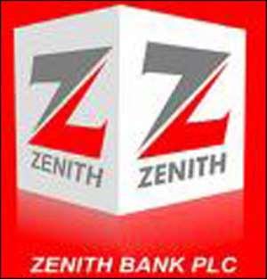 Zenith Bank makes 3,000% profit