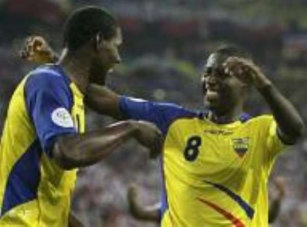 South American Surprise Puts Ecuador Even With Germany