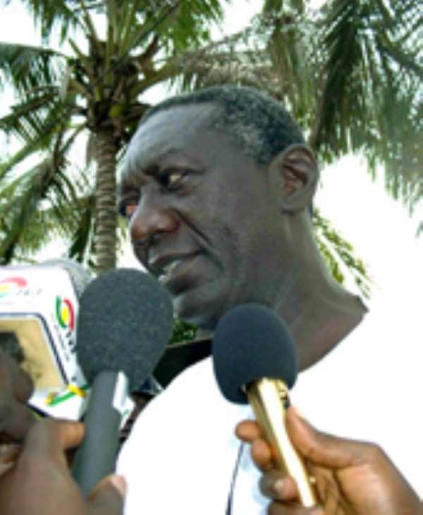 Ghanaian President John Kufuor.