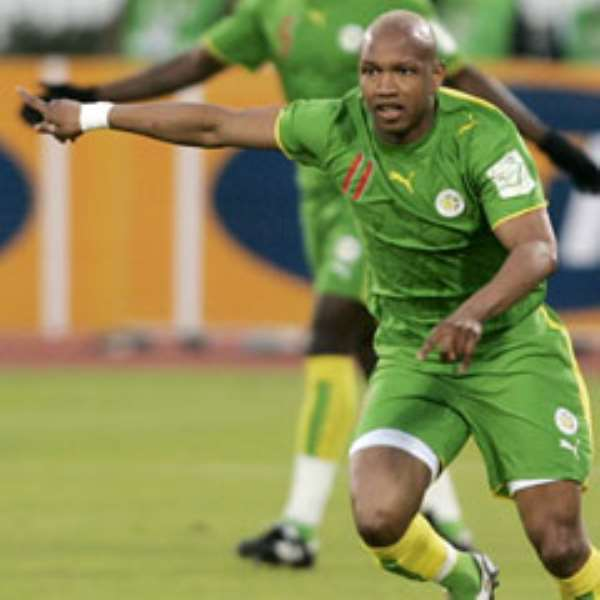 Diouf was arrested over allegations of beating his wife.