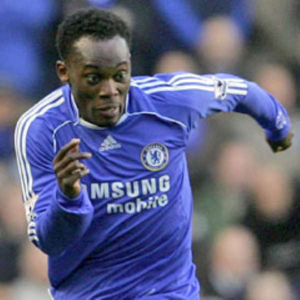 Essien is after a pay rise at Chelsea following his fine form this season
