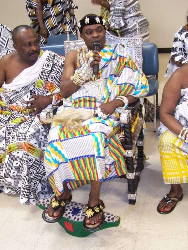 The Ashanti's most colorful Akwasidae festival