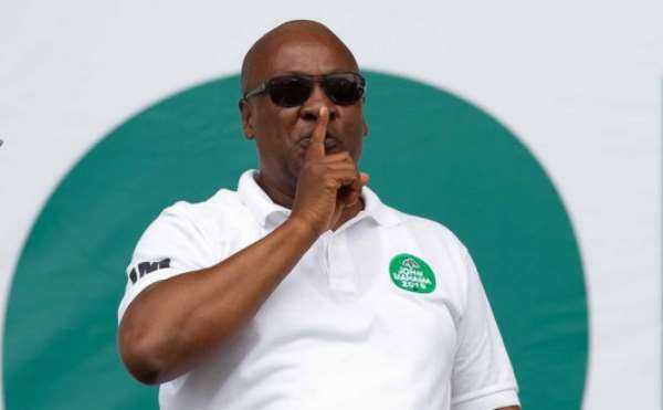 NDC Silence Means NPP Not Worth The Argument: John Mahama Rolled Out Free SHS In Ghana