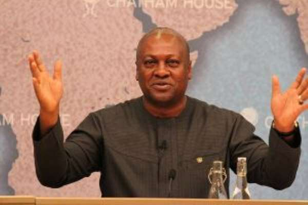 Pardon me, Sirs, Mahama couldn't have been Ghana's economic Messiah, could he?