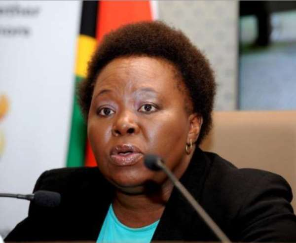 Ms Phumla Williams, South African Cabinet Spokesperson