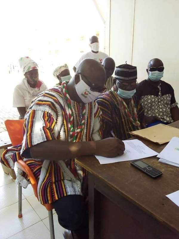 CPP parliamentary candidate for Zebilla constituency