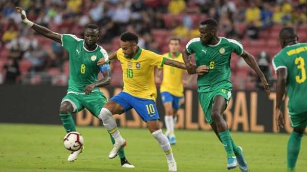 Neymar's 100th Brazil Cap Ends In Draw With Senegal
