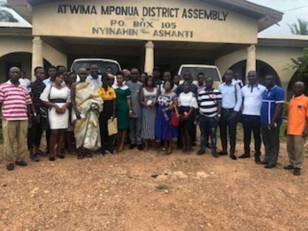 Secretariat Give Scholarships To 59 Tertiary Students In Atwima Mponua