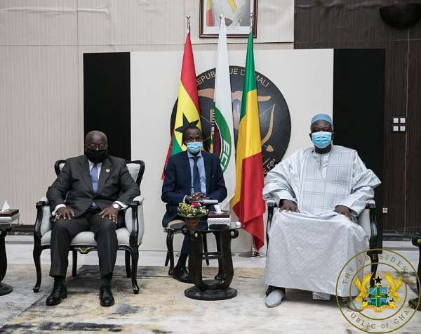 Mali's Interim President Thanks Akufo-Addo