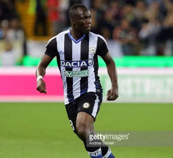Udinese counting on Agyeman Badu return to tame Lazio in Serie A clash