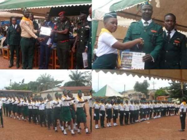 Military Drills Competition Held