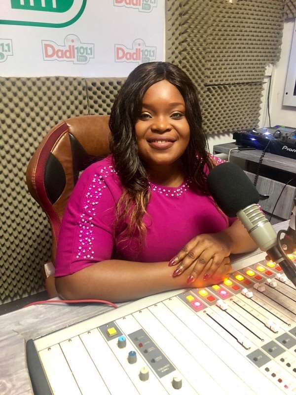Abena Opokua Ahwenee Making Waves On Dadi 101.1 FM Morning Show