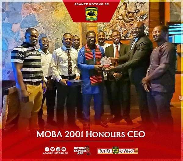 MOBA 2001 Honours Kotoko CEO