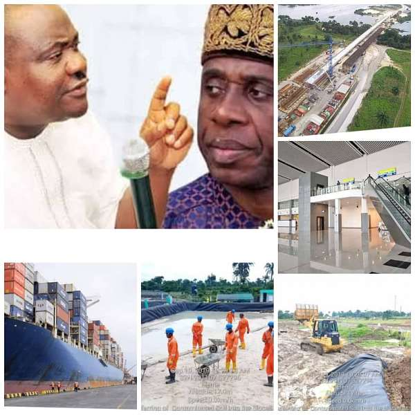 """Attacking Amaechi: """"Resign now if you have any integrity left in you"""", Eze to Wike"""