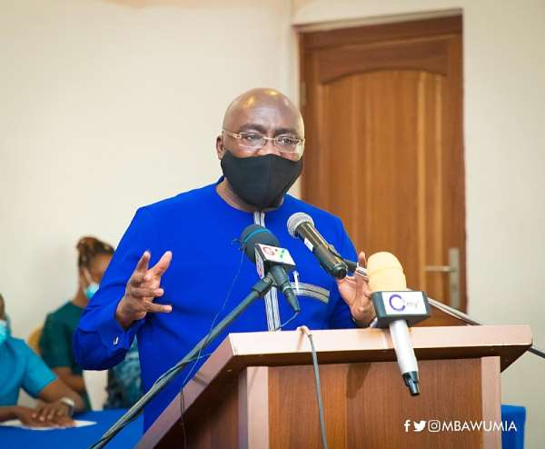 Mahama Is An Archbishop Of Promises – Bawumia Fires