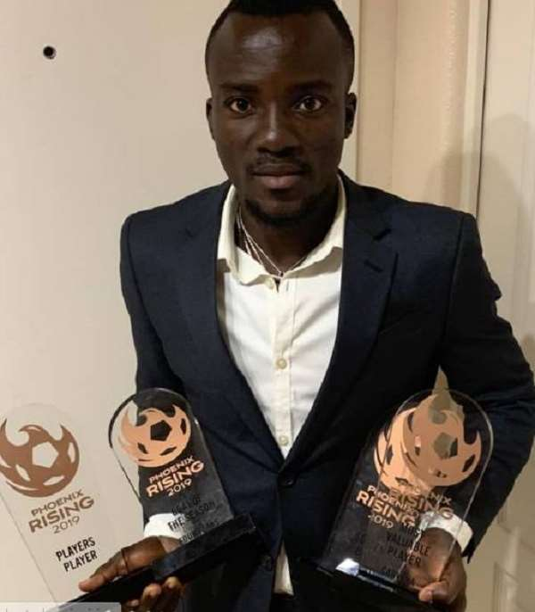 Solomon Asante Wins Four Awards At Phoenix Rising Annual Gala