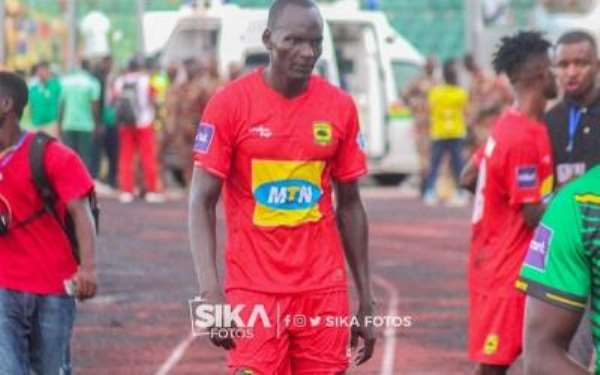 George Abege Scores First Goal For Kotoko In Friendly Against Bekwai Youth