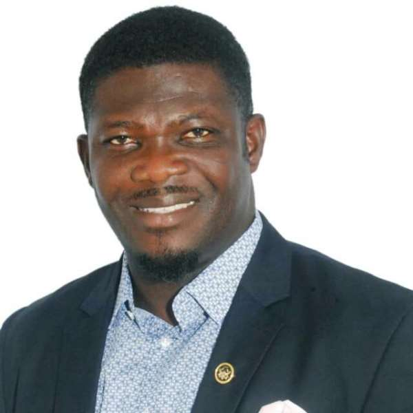 The District Chief Executive of the Afigya Kwabre South district in the Ashanti region, Hon. Adu Poku Christian