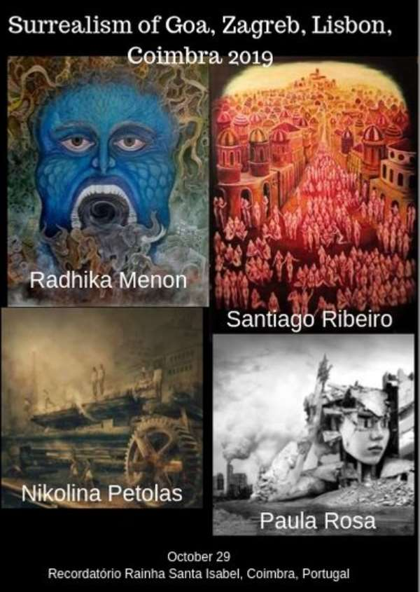 International Art Show Of Surrealism Of The 21st Century In Coimbra