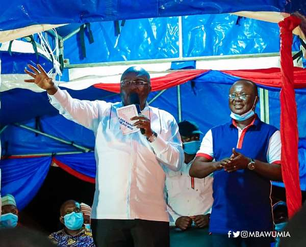 We Don't Want Any Independent Candidate Business – Bawumia To NPP Supporters