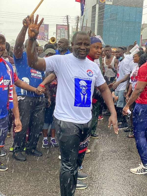 Unity Walk 2020: NPP Klottey Korle Candidate Lawyer Prince Appiah Debrah Shakes Osu