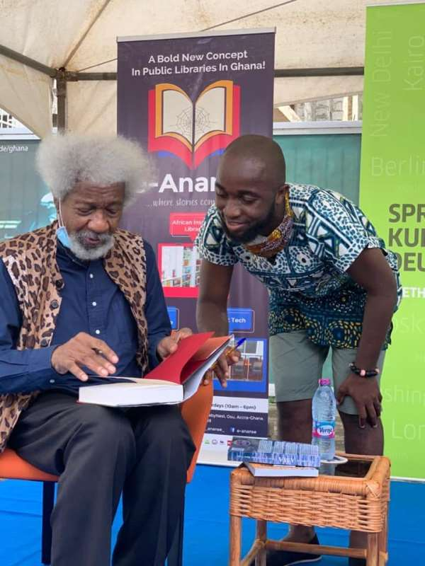 Thoughts Of A Nima Boy: A Conversation With Professor Wole Soyinka