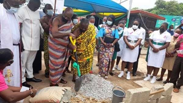 Otumfuo Osei Tutu II Foundation builds 30-bed maternity block for Manhyia Hospital
