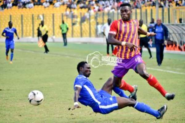 2019 Homowo Cup: Hearts And Olympics Draw Goalless