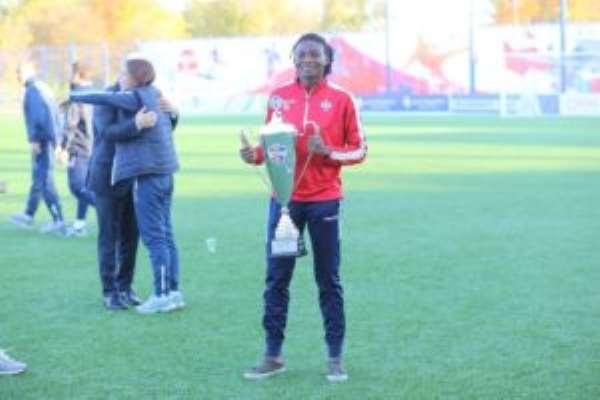 Black Queens defender Faustina Ampah wins league title with Belarusian side FC Minsk