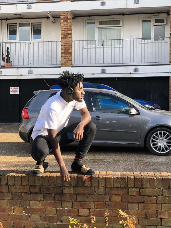 Rapper Amerado Records With UK-Based Music Producers