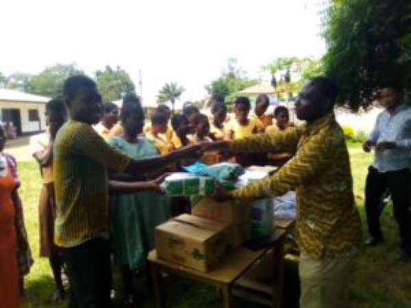 NABCO Personnel Donates To Three Kings Special School For The Blind