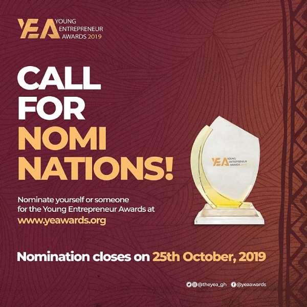 Young Entrepreneur Awards 2019 Nomination Opens