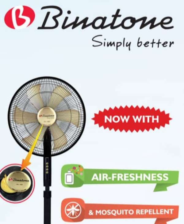 Binatone Introduces New Series Of Standing Fans With Mosquito Repellent Feature, Air Freshener Features