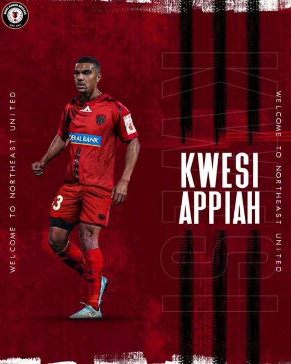 Ex-Ghana Striker Kwesi Appiah Joins Indian Super League Side NorthEast United FC