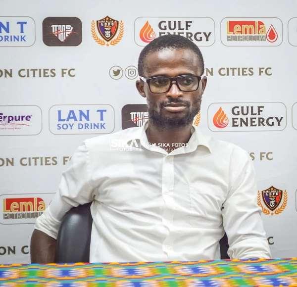 Techiman Eleven Wonders head coach Ignatius Osei-Fosu