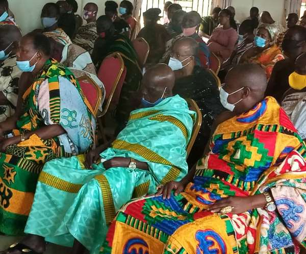 Regional Minister Tasks Ahafo Chiefs To Deal With Violent Politicians