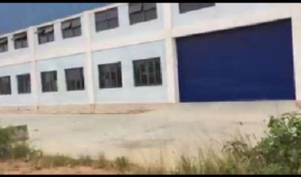 Mahama's Legacy Suffers Neglect:  Multi-million Dollar Sacks Factory Left To Rot At Adeiso