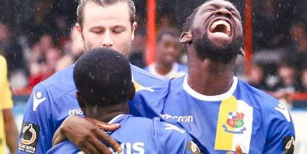 Ghanaian Midfielder Godfrey Poku Tips Lower Side Wealdstone To Go Far In FA Cup