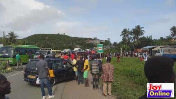 Speeding Driver Kills 4 Children At Anomabo