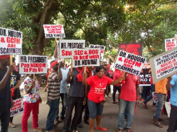 Seize, Sell Dr. Nduom Properties — Aggrieved Customers Of GCFM To Gov't