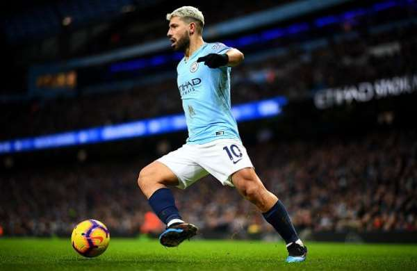 Man City's Striker Aguero Escapes Injury After Being Involved In Accident