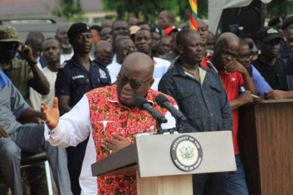 E/R: NPP Commends Akufo-Addo For Regional Tour