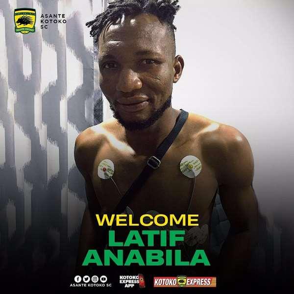 OFFICIAL: Kotoko Sign Latif Anabila On A 3-Year Contract