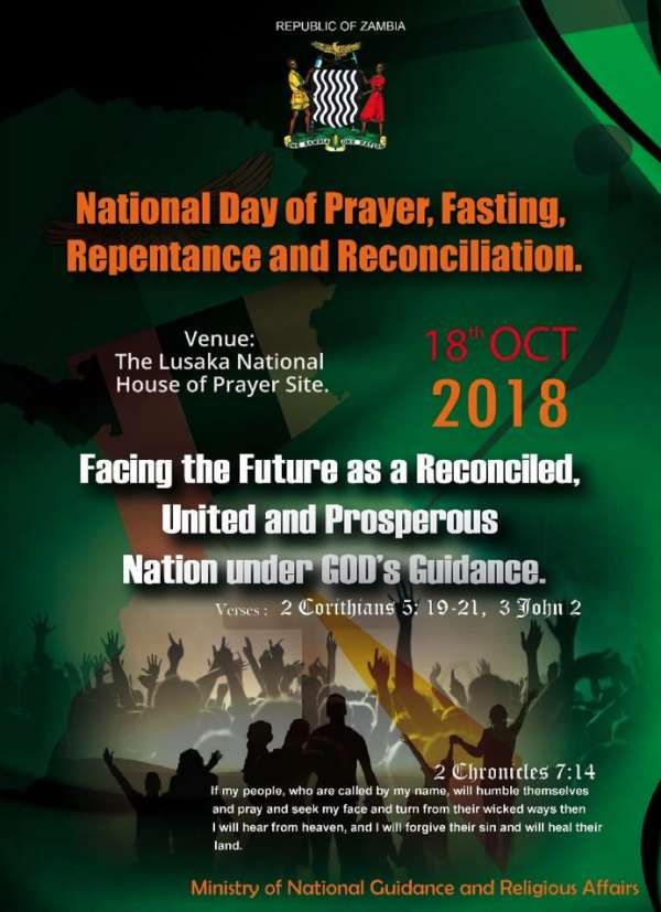 Zambia: Various Ways of Observing National Prayer Day